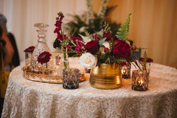 wedding centerpiece - hudson ny wedding
