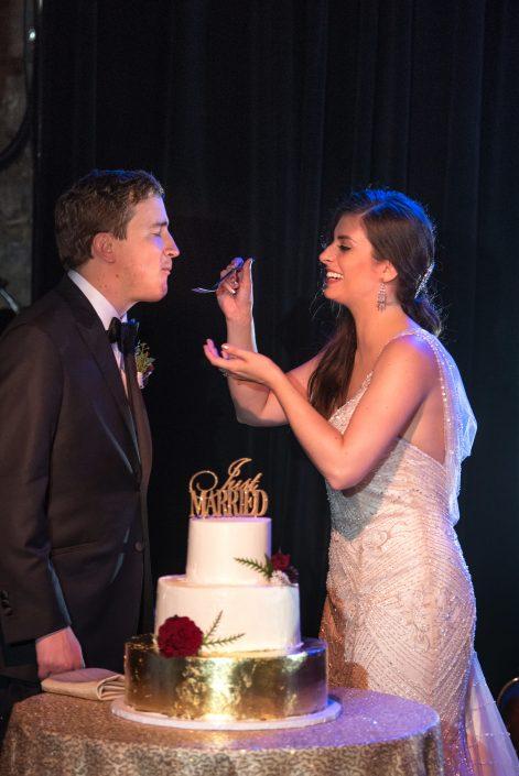 cake cutting ceremony - hudson ny wedding