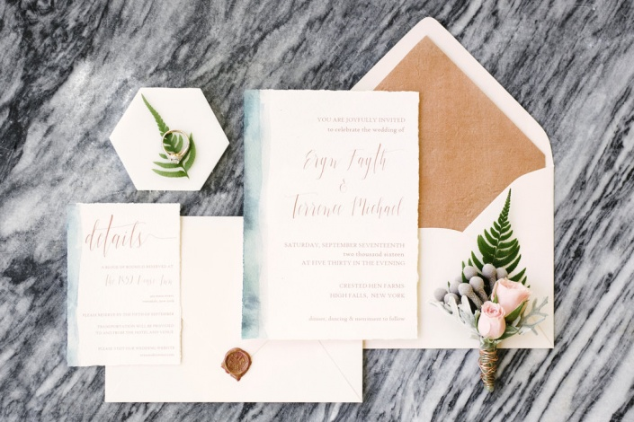 invitation suite - flyaway paperworks