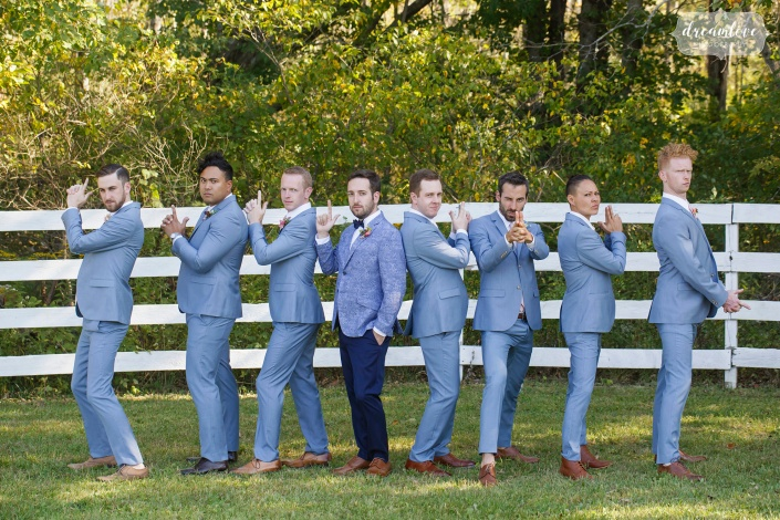 groomsmen - hudson ny wedding