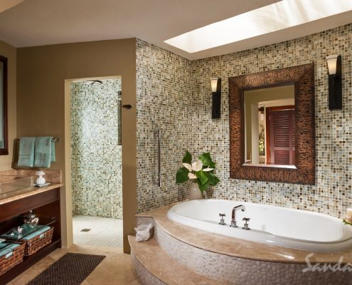 sandals st lucia bathroom