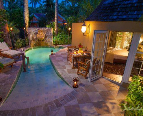 private pool Antigua