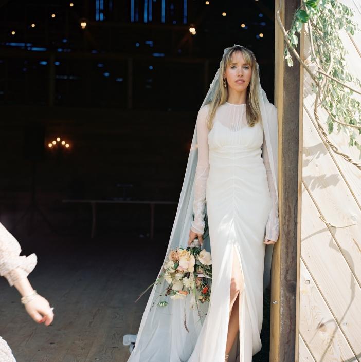Hudson valley wedding - hayfield