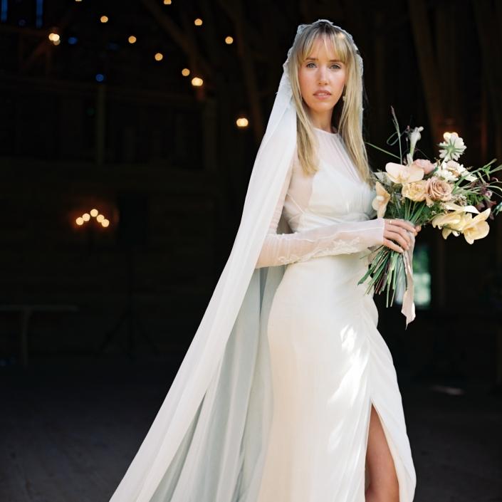 bride's bouquet hayfield Catskills