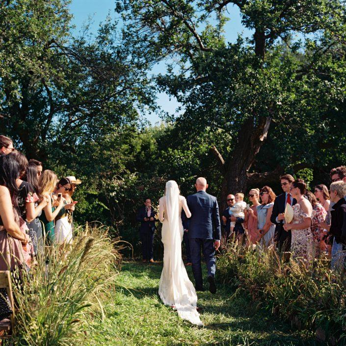 hayfield wedding ceremony
