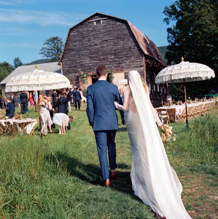 barn wedding hayfield Catskills