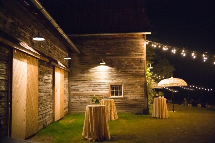 outdoor barn wedding hudson valley