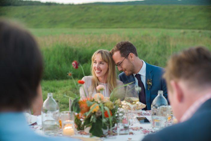 Bride and Groom - Hayfield Catskills wedding