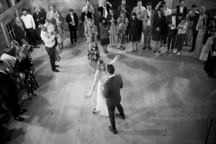 first dance - hayfield wedding