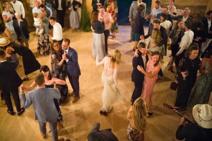 dance floor hayfield wedding