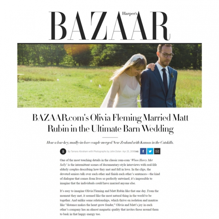 Olive Kane - Harper's Bazaar feature
