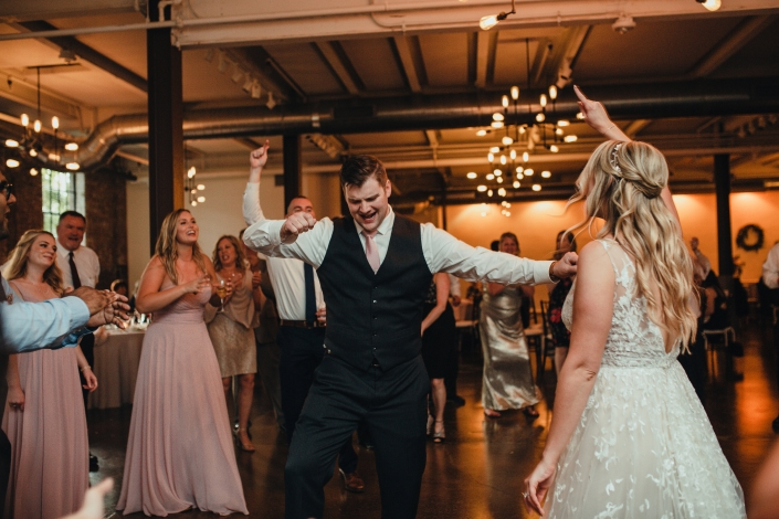dance party wedding