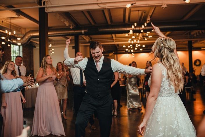 dance party wedding