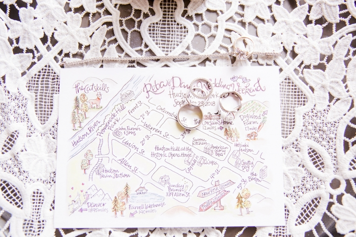 wedding map hudson ny