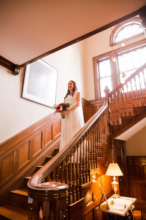 bride at Inn at Ca'Mea
