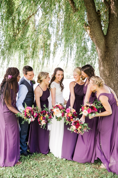 bridesmaids in Hudson NY