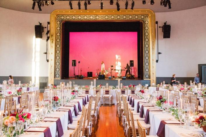 wedding at Hudson hall