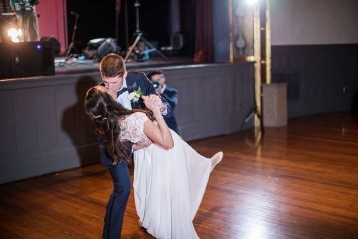 first dance at Hudson hall