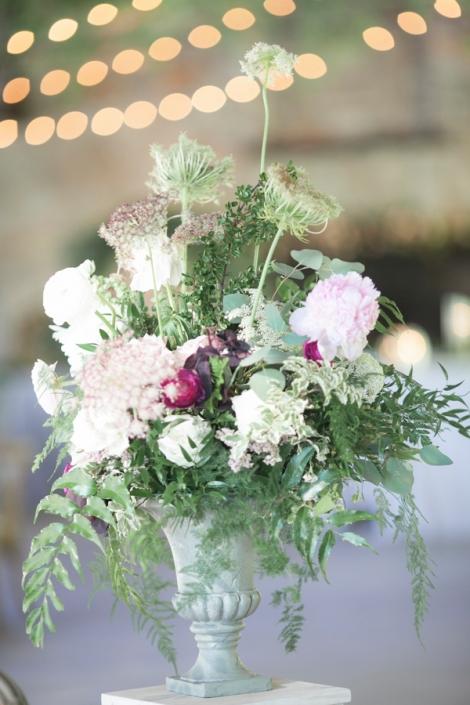 flowers - ice rink wedding at mohonk