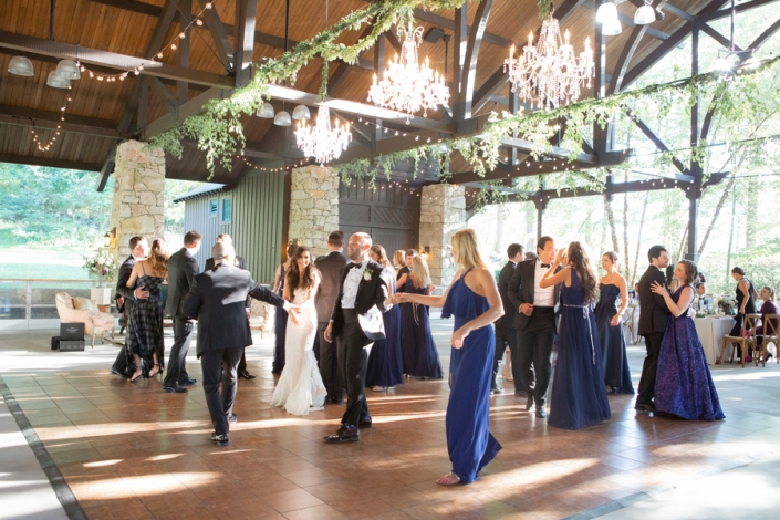 wedding reception at mohonk