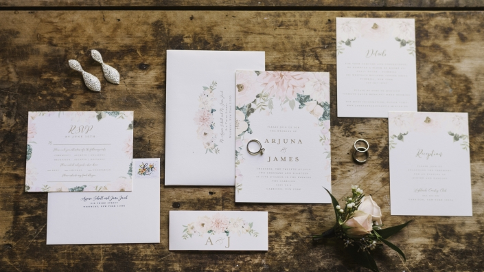 minted invitations at the highlands country club
