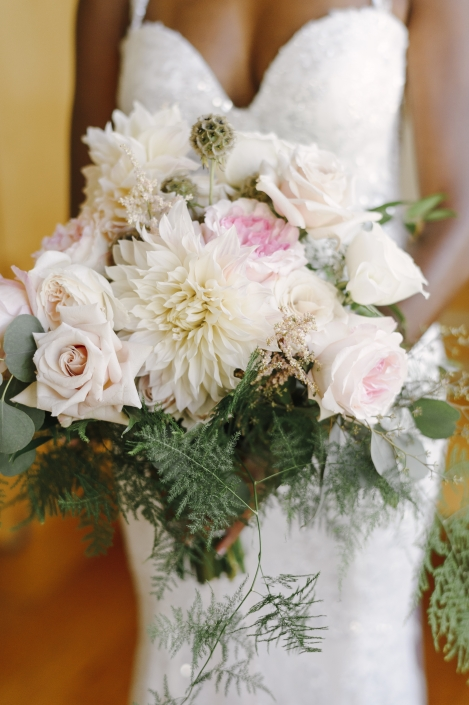 bridal bouquet - viridescent floral