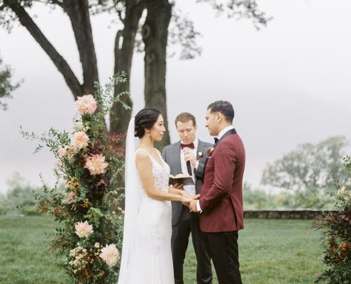 monteverde at oldstone wedding ceremony