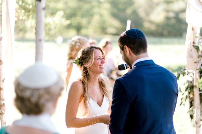 wedding vows - ceremony at Hayfield