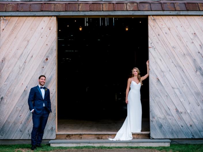 Sam and Adam - Hayfield Catskills Barn