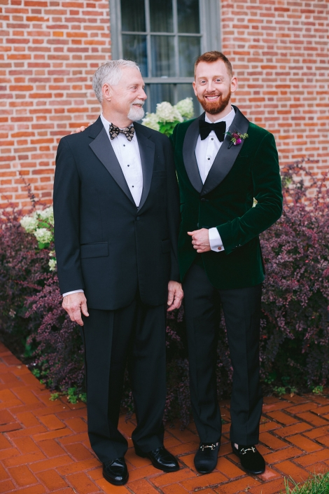 groom and father of the groom