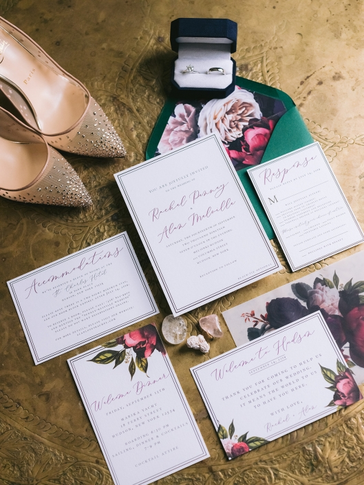 invitation suite by Flyaway Paper Co
