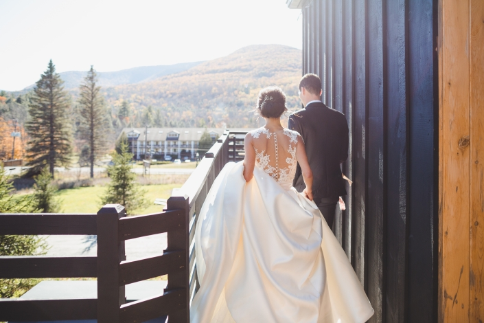scriber's lodge wedding - post ceremony