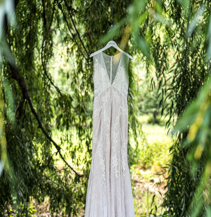 wedding gown - nostrano vineyards