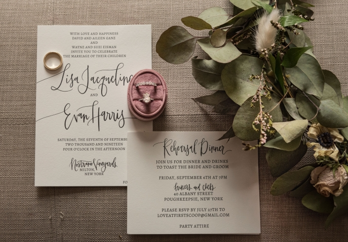 invitation suite by Coppola creative