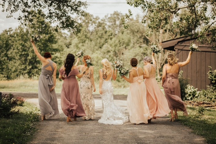 bridesmaids - Audrey's farmhouse