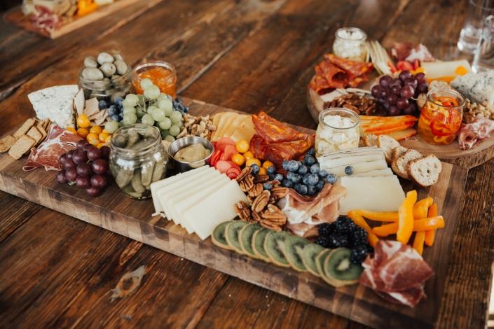 reception food - wedding