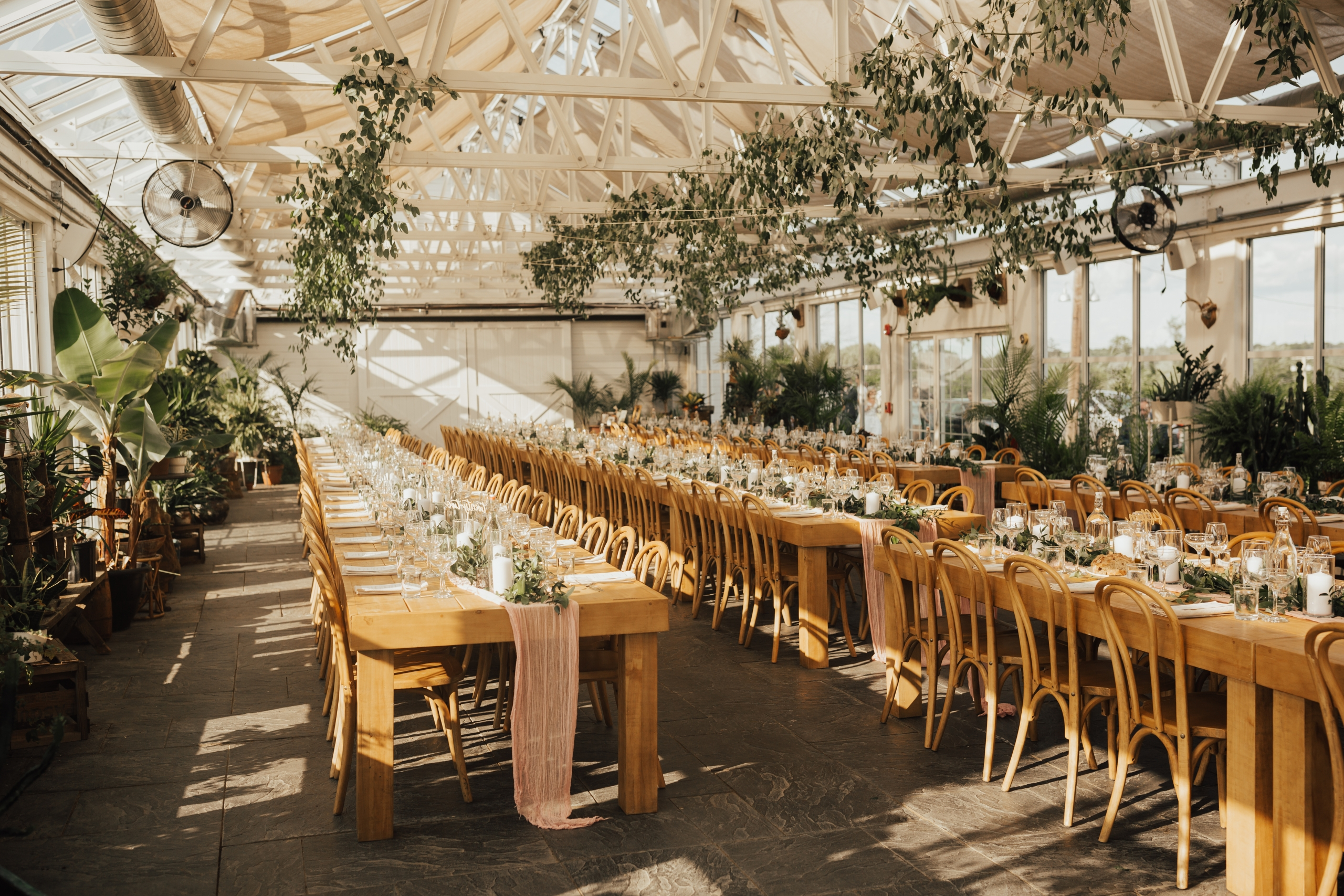 greenhouse wedding at Audrey's farmhouse - Hudson valley