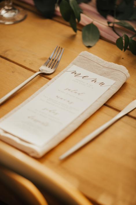 place setting napkin - Audrey's farmhouse