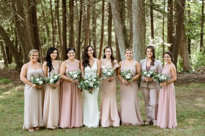 bridesmaids at arrow park