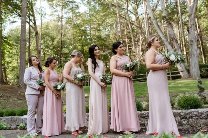 bridesmaids - Arrow Park Wedding