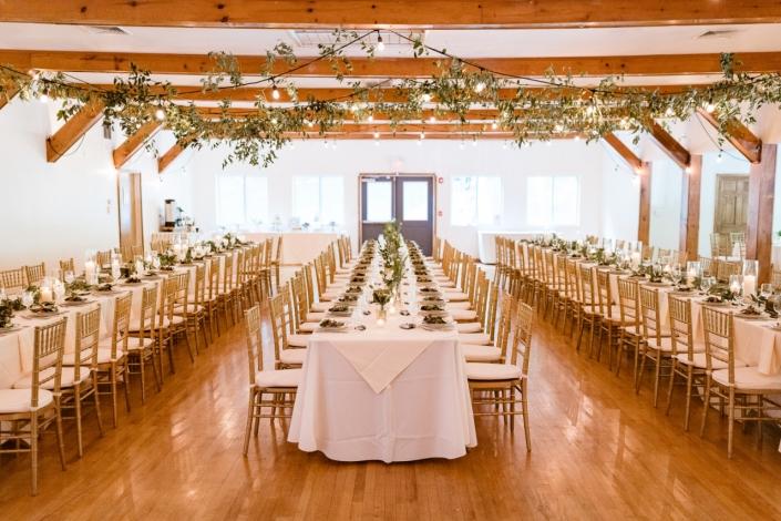 reception tables - arrow park