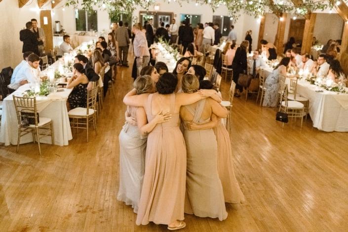 girls dancing arrow park wedding