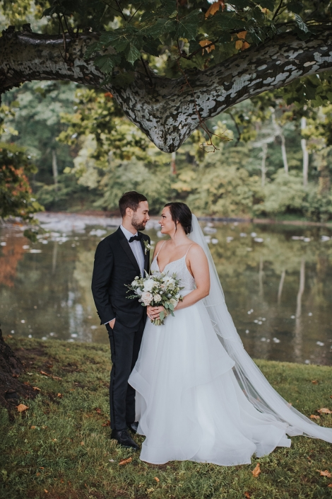 bride and groom - Hudson valley wedding