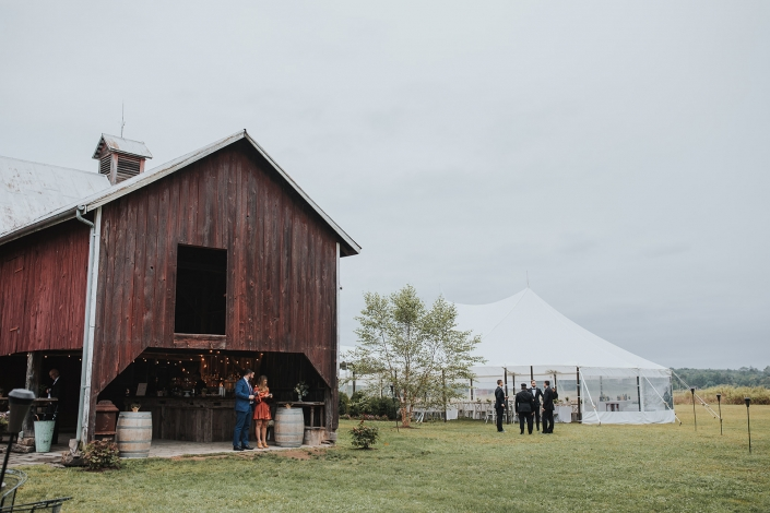 barn wedding in the Hudson valley