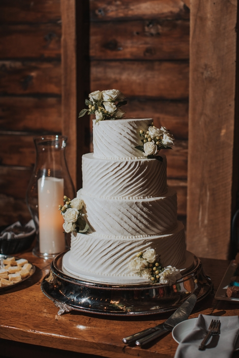 wedding cake - crested hen farms