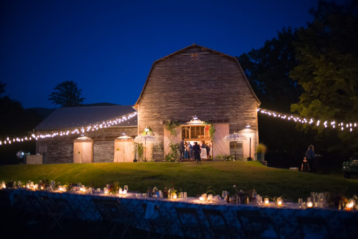 Hayfield wedding barn