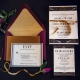 Wedding Invitation Etiquette Guide with RSVP cards