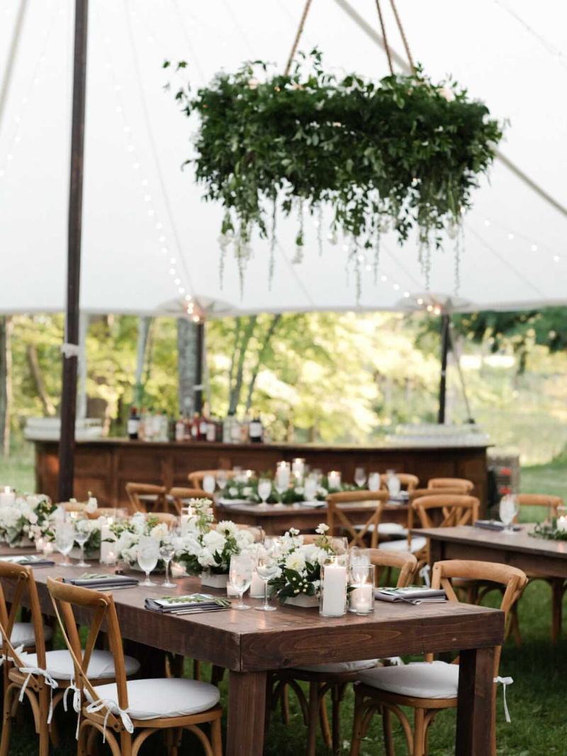 Outdoor Tented Wedding in Hudson Valley